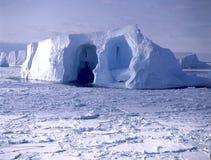 Antarctica. Iceberg around the antarctic coast royalty free stock photo
