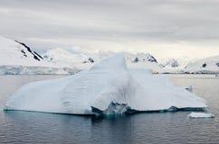 Antarctica - Iceberg And Landscape Stock Image