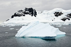 Antarctica - Iceberg And Landscape Stock Photos