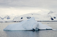 Antarctica - Iceberg And Landscape Stock Images