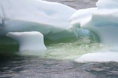 Antarctica - Icebergs - Closeup Stock Image