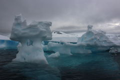 Antarctica - krajobraz Zdjęcia Stock
