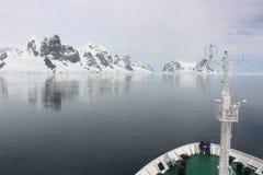 Antarctica - krajobraz Fotografia Royalty Free