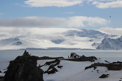 Antarctica - krajobraz Obrazy Stock
