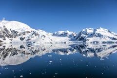 Antarctica landsape-12 Stock Afbeelding