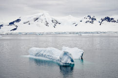Antarctica - Landscape With Iceberg Stock Photo