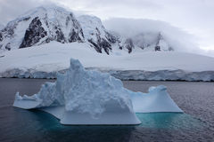 Antarctica Lemaire Channel Stock Photo