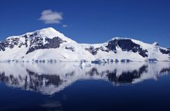 Antarctica mountains Stock Photography