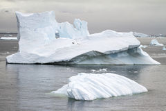 Antarctica - Non-Tabular Iceberg Floating In The Southern Ocean Royalty Free Stock Photo