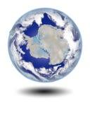 Antarctica od przestrzeni ilustracja wektor