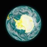 Antarctica op aarde Royalty-vrije Stock Foto's
