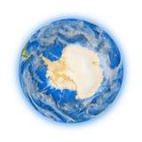Antarctica op aarde Stock Afbeelding