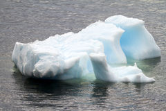 Antarctica - płytkowa góra lodowa Fotografia Stock