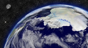 Antarctica on planet Earth Stock Photography