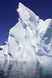 antarctica podpalana cuverville góra lodowa Obraz Royalty Free