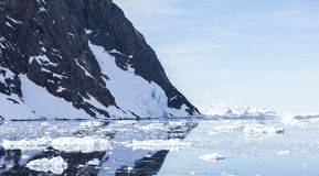 Antarctica Reflection Royalty Free Stock Image