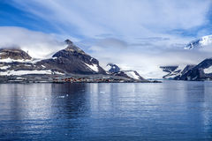 Antarctica research base station Royalty Free Stock Image
