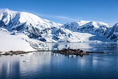 Antarctica research Chileen base station-3 Royalty Free Stock Photography