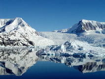 Antarctica's reflection Royalty Free Stock Image