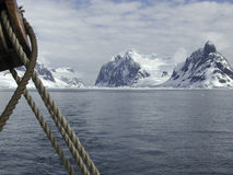 Antarctica sailing Royalty Free Stock Image