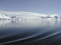 Antarctica sailing Stock Photography