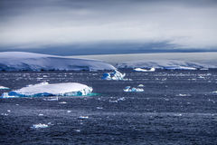 Antarctica sea ice landscape-2 Stock Photography