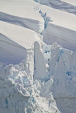 Antarctica - Snow Accumulations Royalty Free Stock Photo