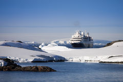 antarctica statek wycieczkowy Zdjęcie Royalty Free