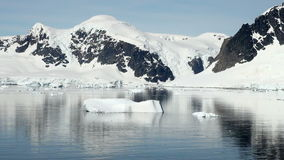 Antarctica in a sunny day