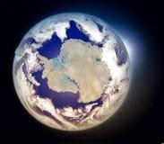 Antarctica at sunrise Stock Photo