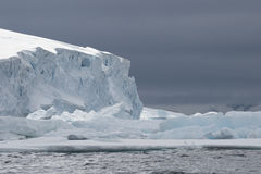 Antarctica view form the ship Royalty Free Stock Images