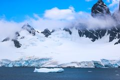 Antarctica w zimie obraz stock