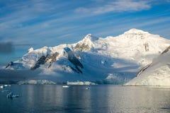 Antarctica w zimie zdjęcie stock
