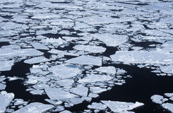 Antarctica Weddell Sea ice flow Royalty Free Stock Photography