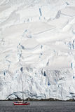 Antarctica Wildlife Expedition. Exploring Antarctica - Sailing Among The Icebergs And Seals - Travel Destination Royalty Free Stock Photography