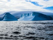 Antarctica in winter. In January 2018 Stock Images