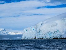 Antarctica in winter. In January 2018 Royalty Free Stock Images