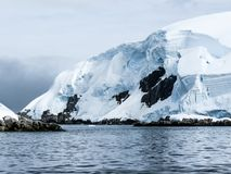 Antarctica in winter. In January 2018 Royalty Free Stock Photos