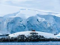 Antarctica in winter. In January 2018 Stock Photos