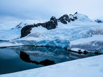 Antarctica in winter. In January 2018 royalty free stock photo