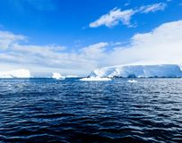 Antarctica in winter. In January 2018 Stock Photography