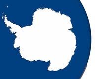 Antarctica z swój flaga Obraz Stock