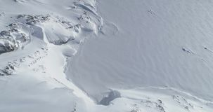 Antarctica zimy śnieżny halny widok z lotu ptaka zbiory