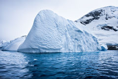 Antarcticglaciär Arkivbilder