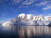 antarctichalvö Arkivbilder