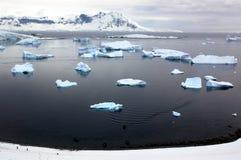 antarctickontinent Arkivbilder