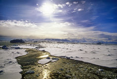 antarcticlanscape Royaltyfri Bild