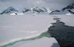 Antarctisch overzees ijs royalty-vrije stock afbeelding
