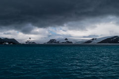 Antarctisch Zeegezicht Royalty-vrije Stock Afbeelding
