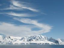 Antarctische de zomerhemel Royalty-vrije Stock Afbeelding